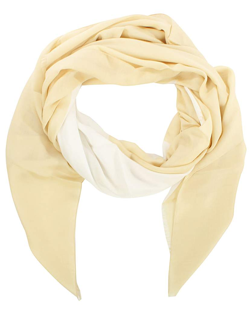 Image of Armani Jeans Beige Large Star Scarf