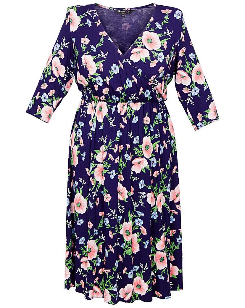 Scarlett & Jo 40's Wrap Dress