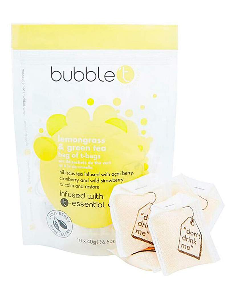 Image of BubbleT Lemongrass & Green Tea Bath Set