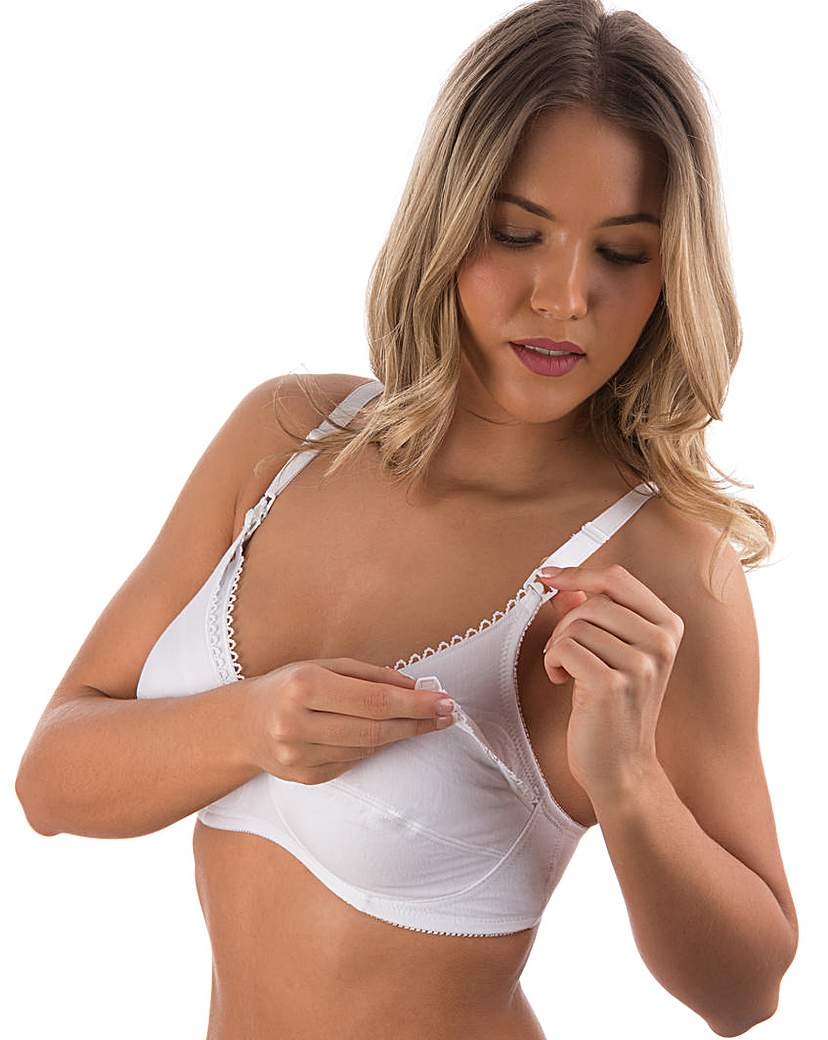 Naturana Cotton Nursing Bra