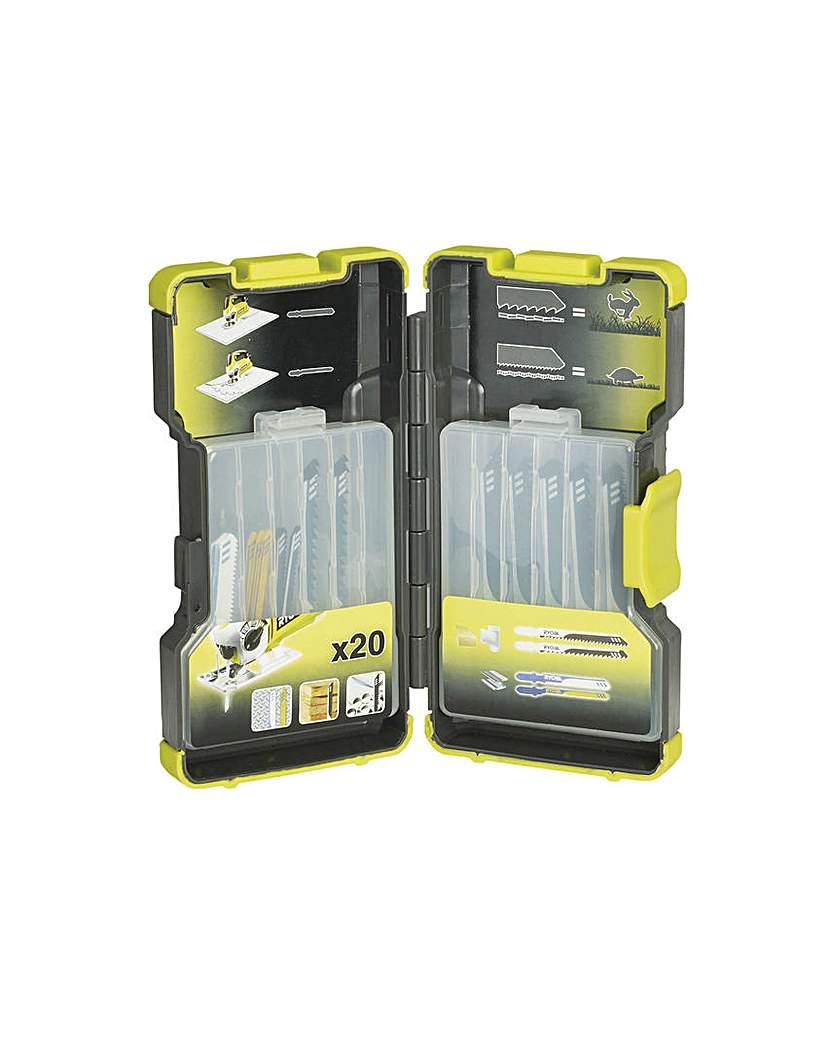 Rak-20jb Jigsaw Blade Set 20pc