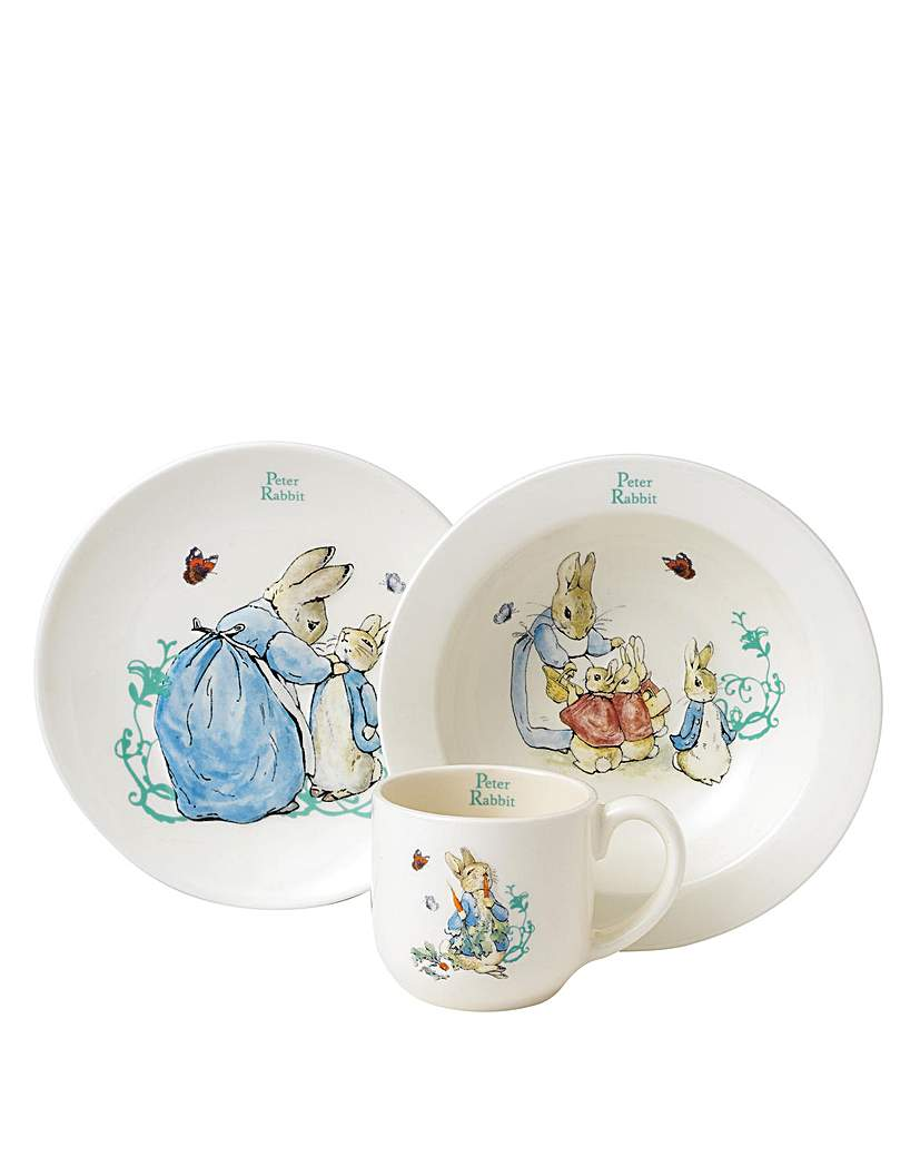 Image of Beatrix Potter Three Piece Nursery Set
