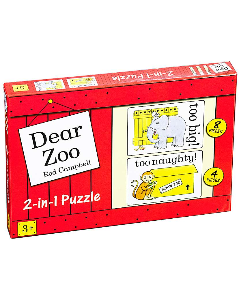 Image of Dear Zoo 2 in 1 Jigsaw Puzzles