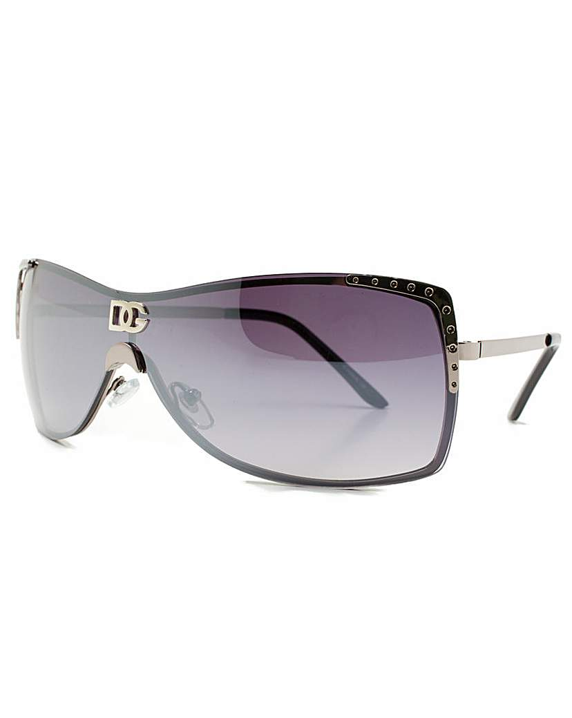 DG Eyewear Black Frame Sunglasses