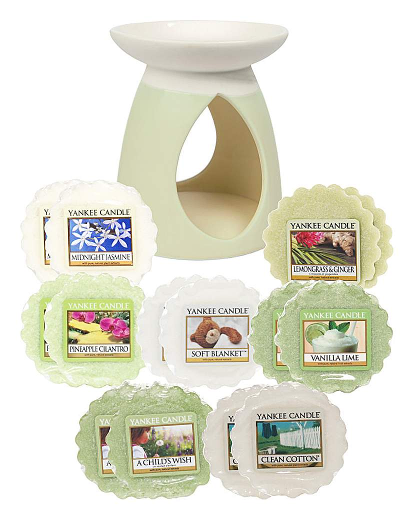 YC Green Pastel Melt Warmer Set