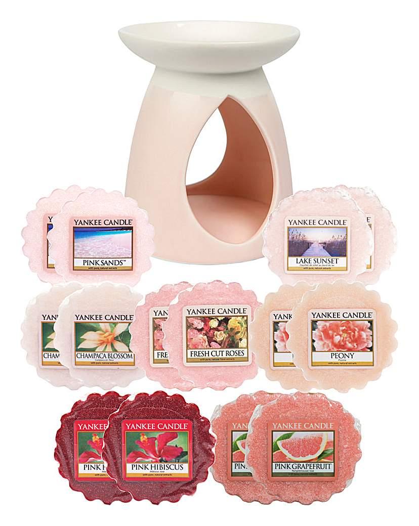 YC Pink Pastel Melt Warmer Set
