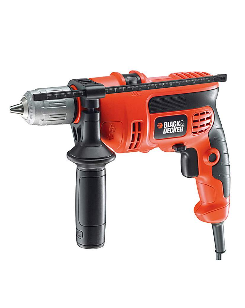 Image of Black and Decker Percussion Hammer Drill