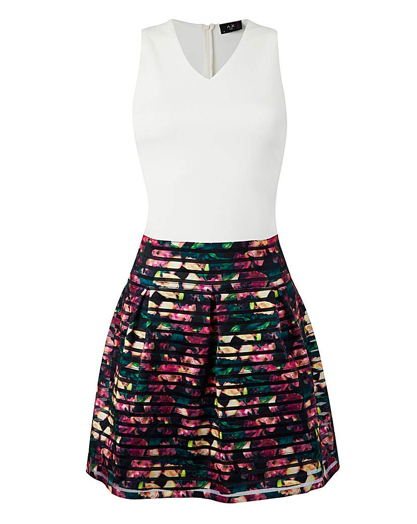 Image of AX PARIS 2 IN 1 DRESS