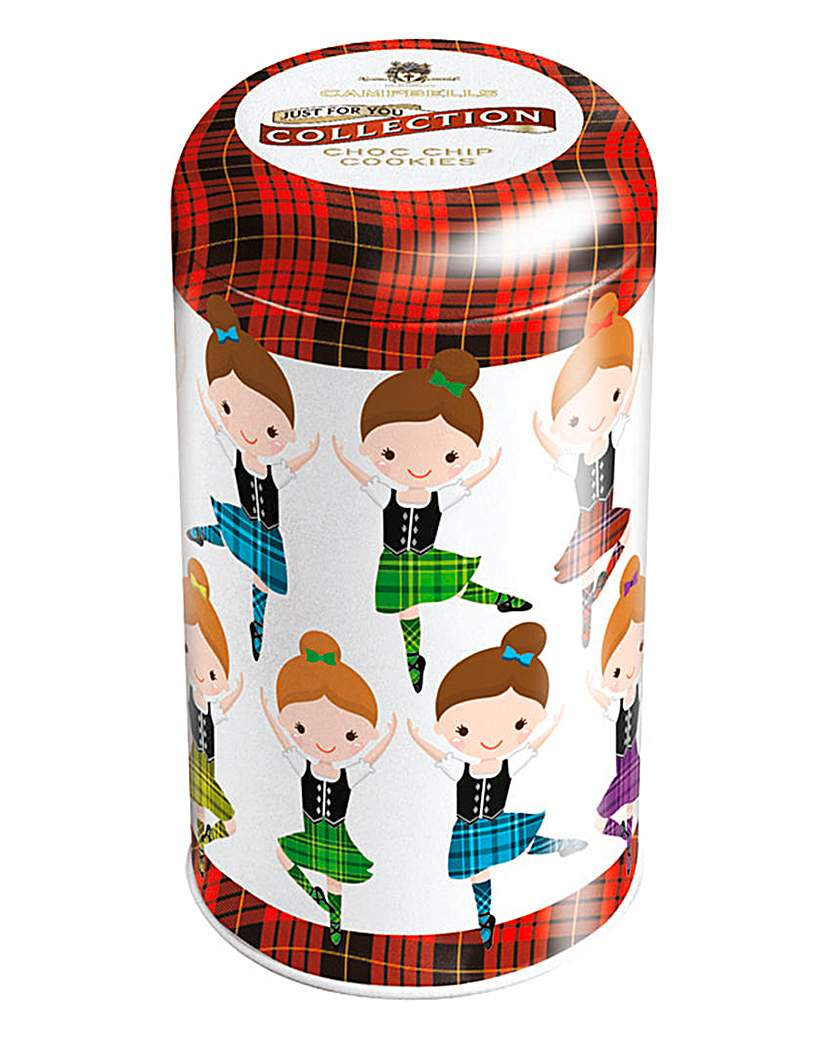 Campbell's Highland Dancers Round Tin
