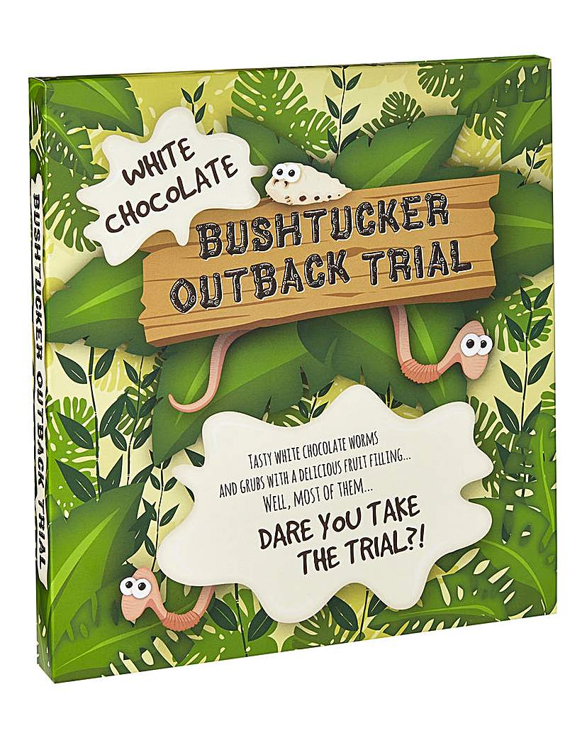 Chocolate Bush Tucker Outback Trial