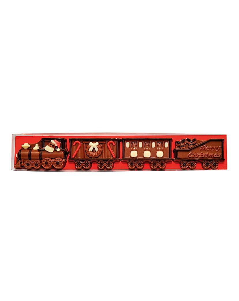 Chocolate Christmas Train