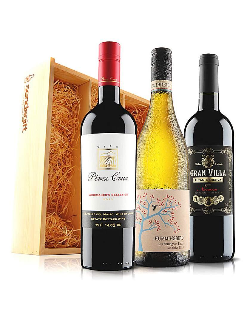 Virgin Wines Premium Wine Trio