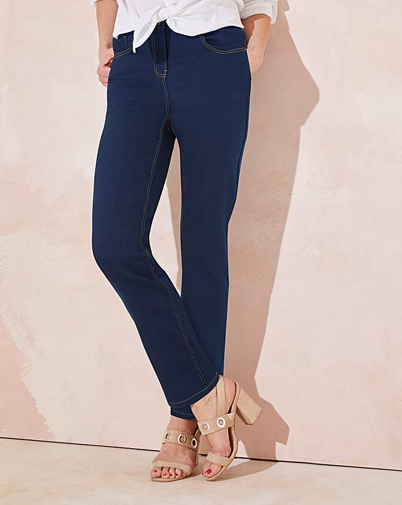 Lexi High Waist Slim Leg Jeans Long.