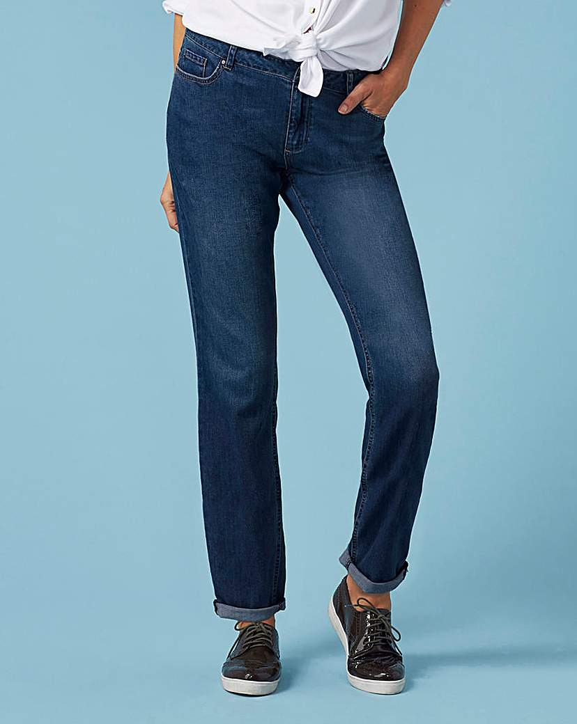 Supersoft Boyfriend Jeans Long
