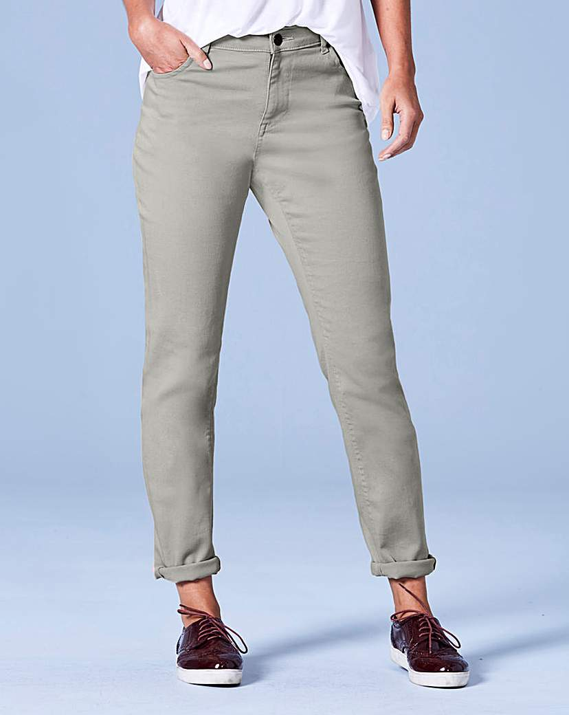 Image of Sadie Sage Green Relaxed Jeans Long