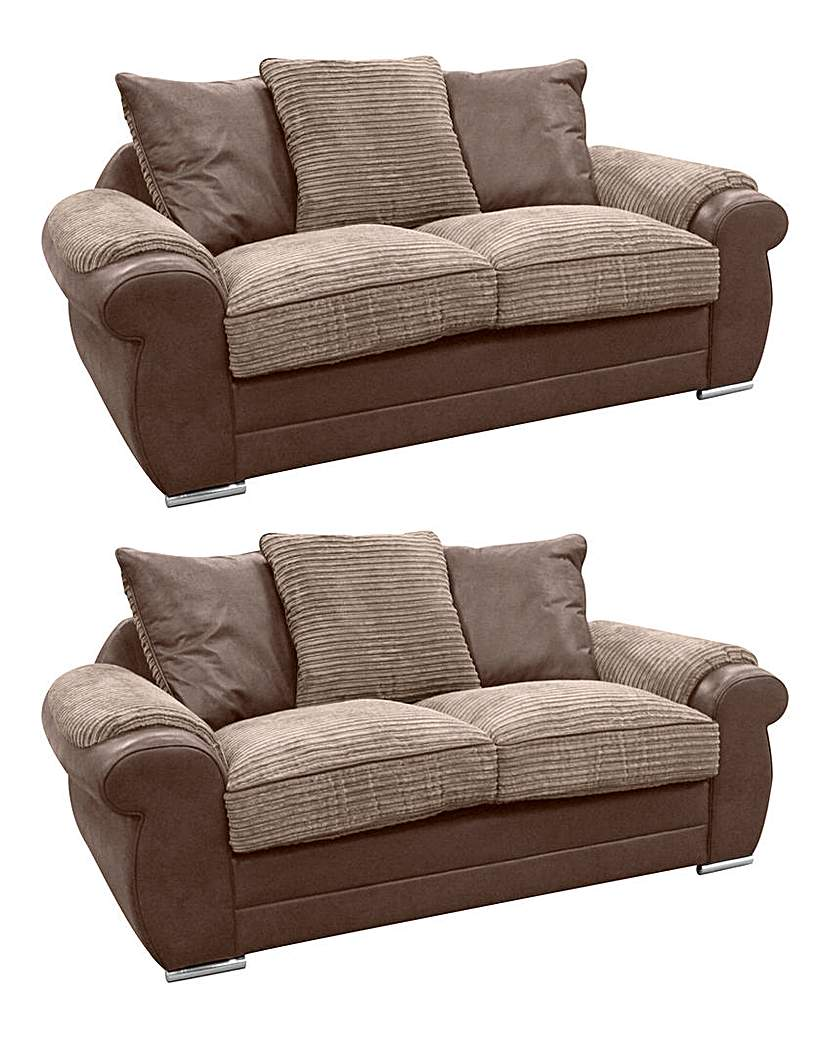 Adelaide 2 Seater and 2 Seater Sofa
