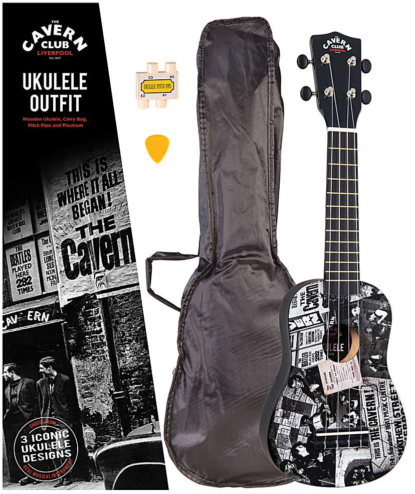 Cavern Club Ukulele Outfit - The Cavern