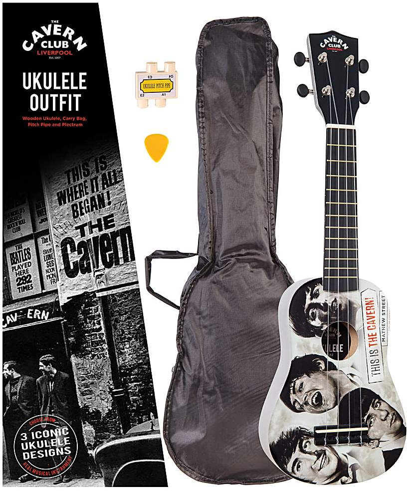 Image of Cavern Club Ukulele Outfit - Fab Faces