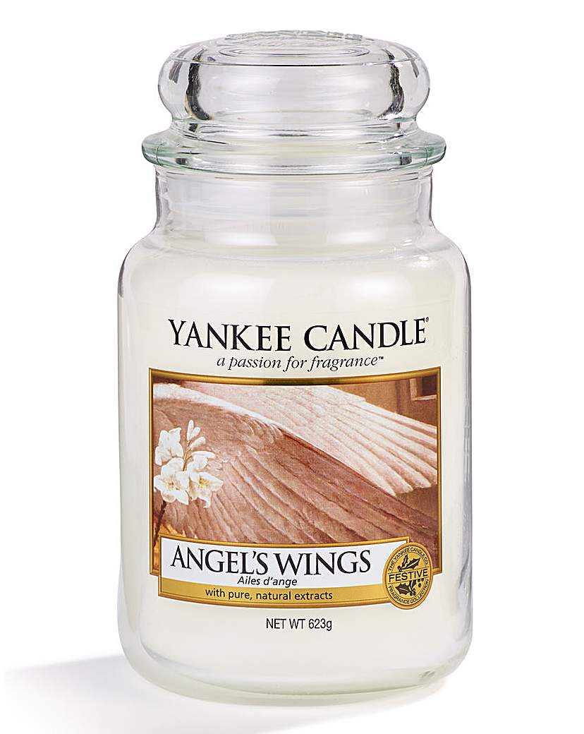 Image of Yankee Candle Angel Wings Large Candle