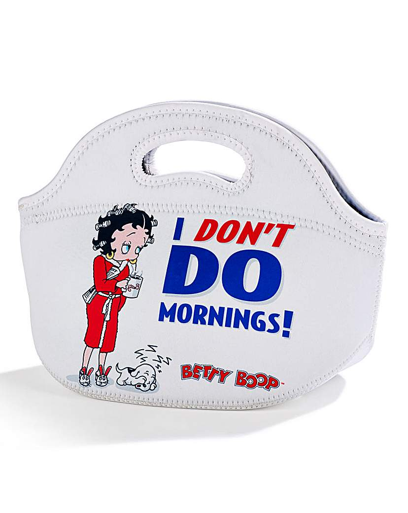 Betty Boop Dont Do Mornings Bag