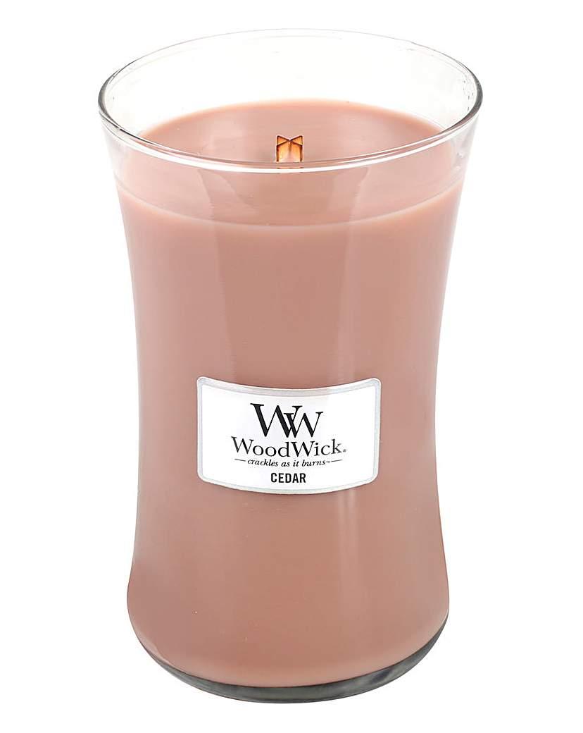 Image of WoodWick Cedar Large Jar