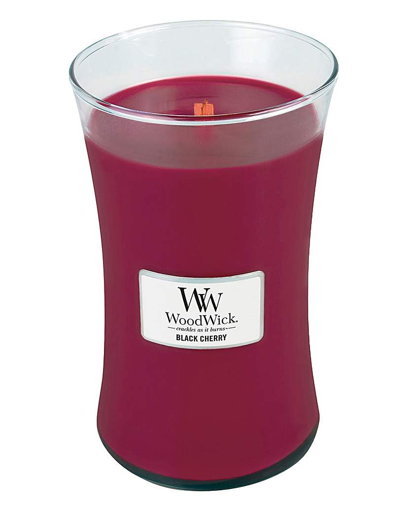 Image of WoodWick Black Cherry Large Jar