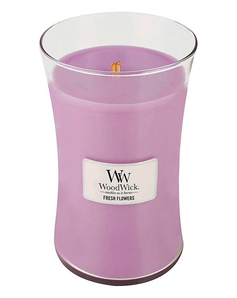 WoodWick Fresh Flowers Large Jar