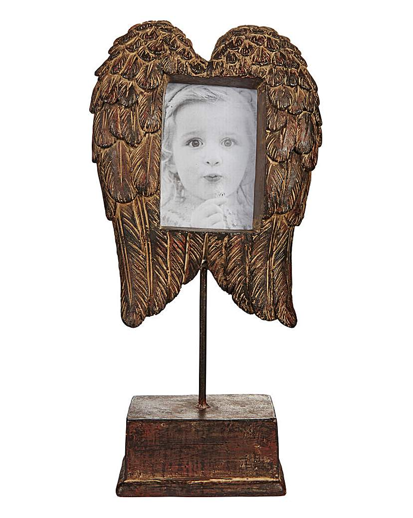 Image of Angel Wings Photo Frame