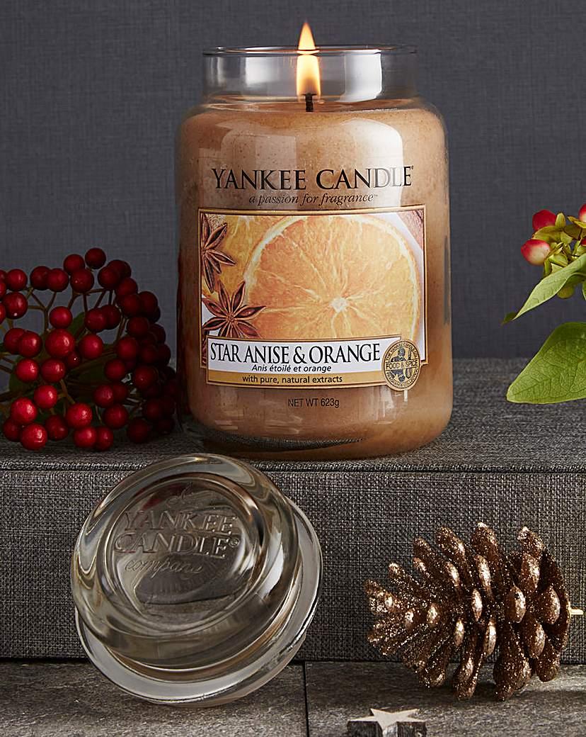 Yankee Candle Star Anise & Orange Jar