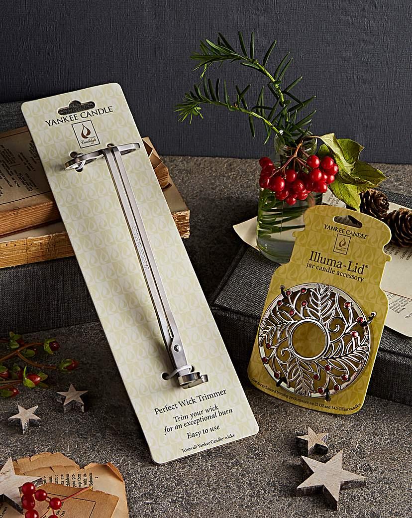 Yankee Candle Illumalid & Wick Trimmer