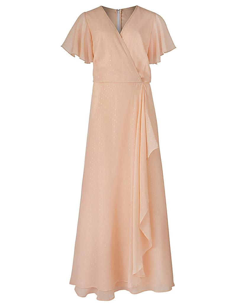 1930s Day Dresses, Afternoon Dresses History Georgette Maxi Dress £65.00 AT vintagedancer.com