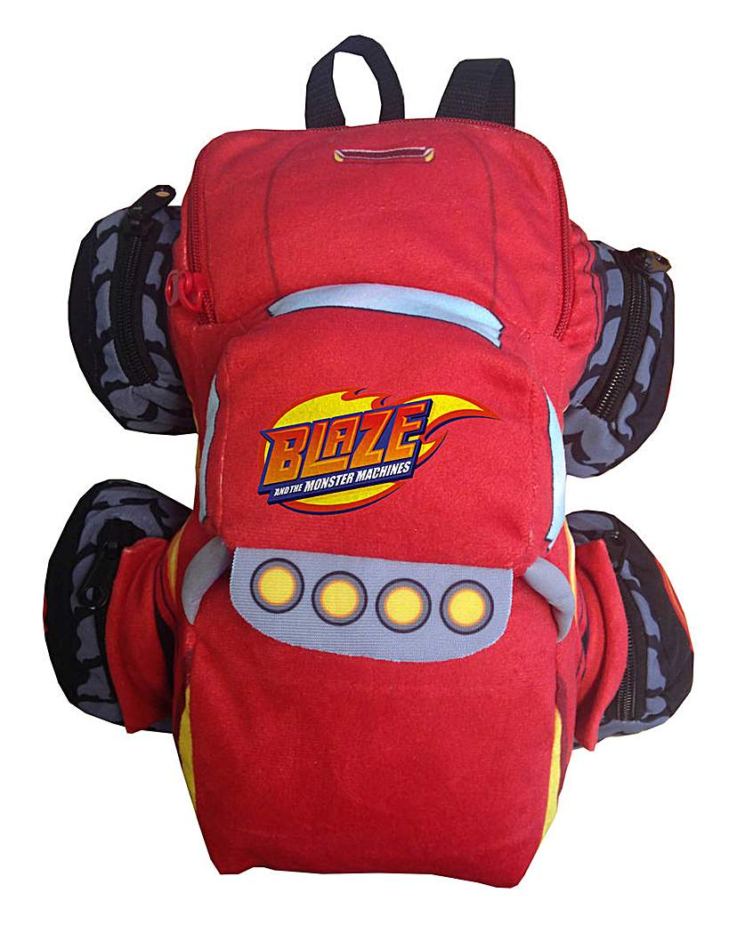 Image of Blaze Truck Plush Backpack