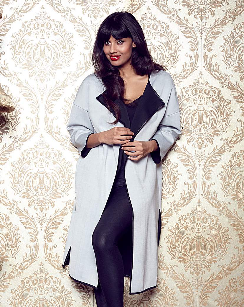 Jameela Jamil Duster Jacket