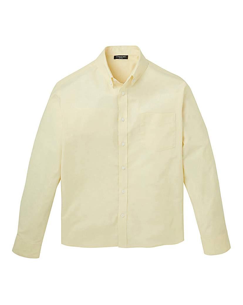 Capsule Long Sleeve Oxford Shirt Regular.