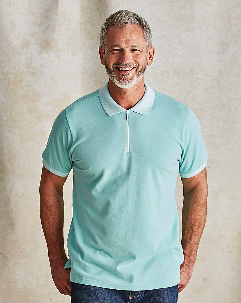 Men's Vintage Style Shirts WILLIAMS  BROWN Short Sleeve Polo Shirt £12.00 AT vintagedancer.com