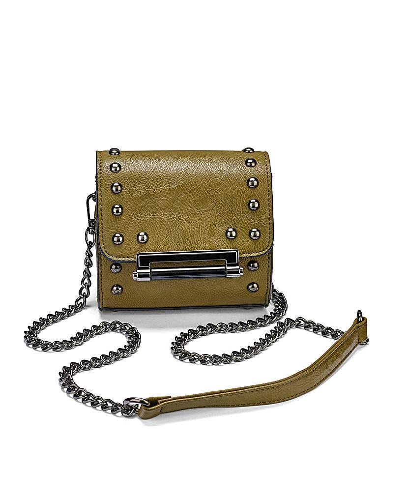Image of Small Studded Satchel