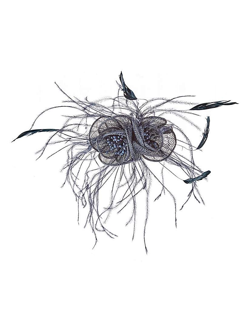 Image of Comb Fascinator with Feathers