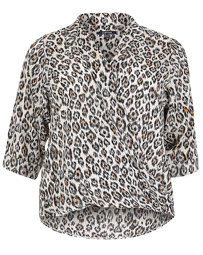 Samya Animal Print Blouse