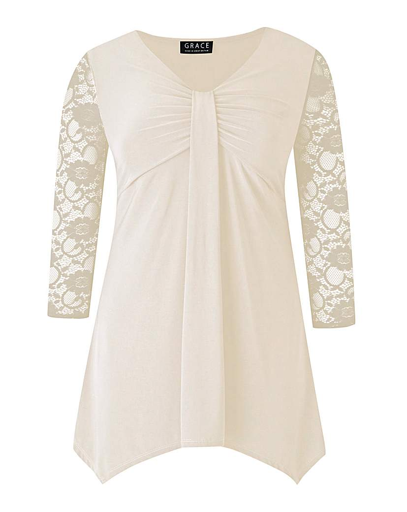 Grace Made In Britain Tunic Top
