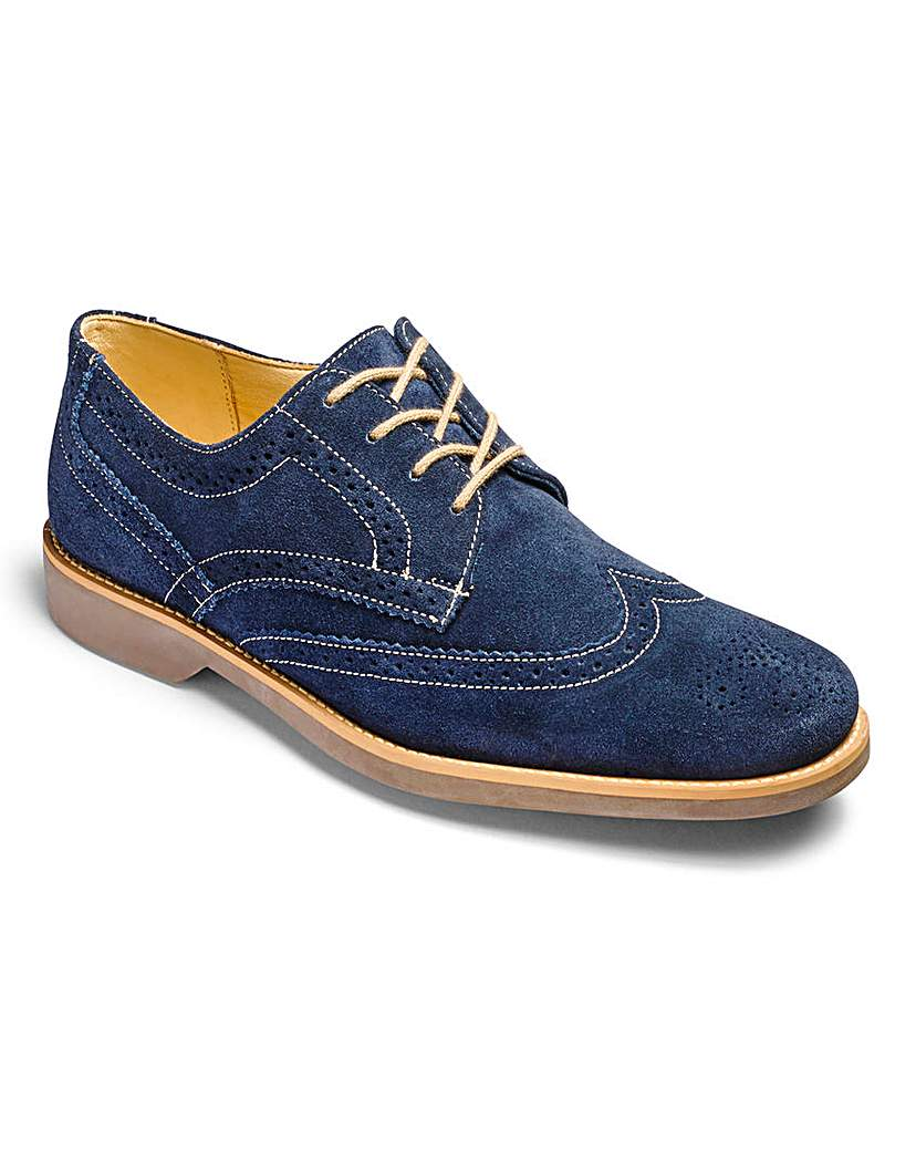 Image of Anatomic Tucano Suede Brogues