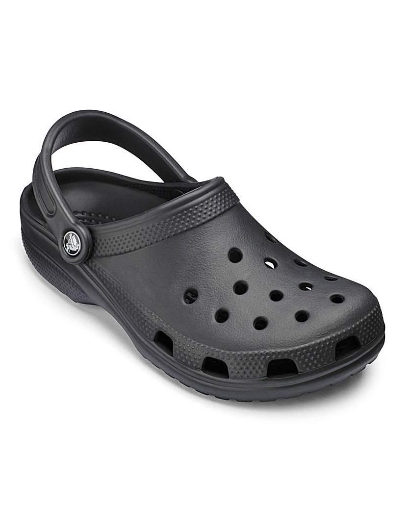 Image of Crocs Black Classic Clogs