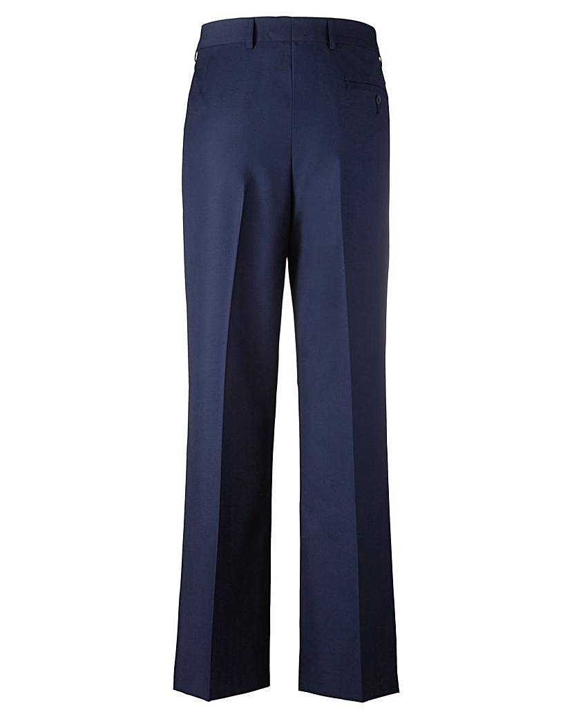 Image of Jacamo Bootcut Trousers 35 Ins