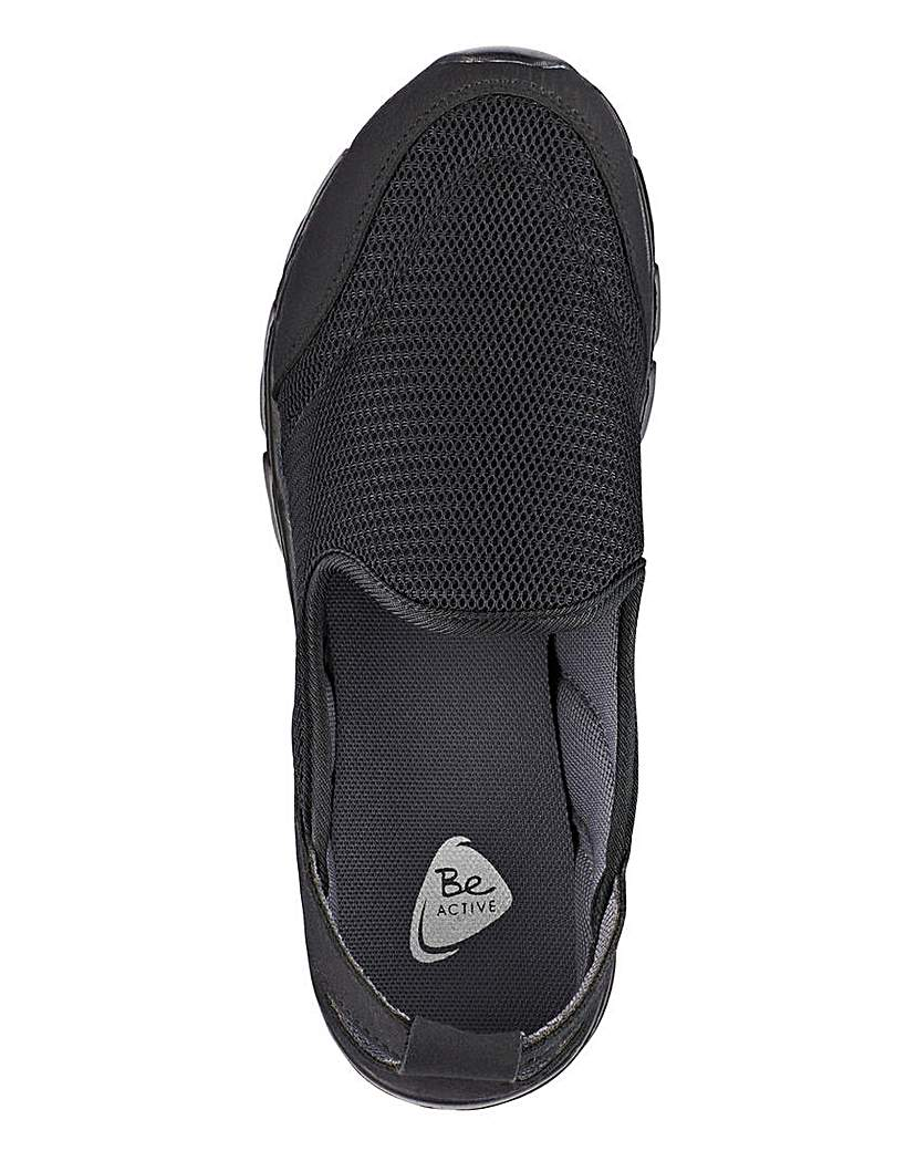 Image of Be Active Slip On Trainers E Fit