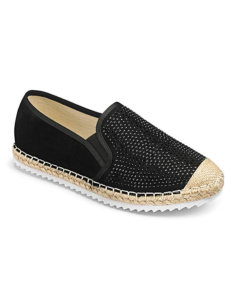 Heavenly Soles Espadrilles E Fit.