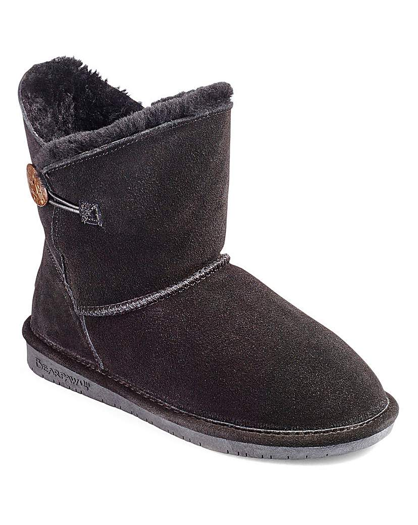 Bearpaw Suede Ankle Boots D Fit