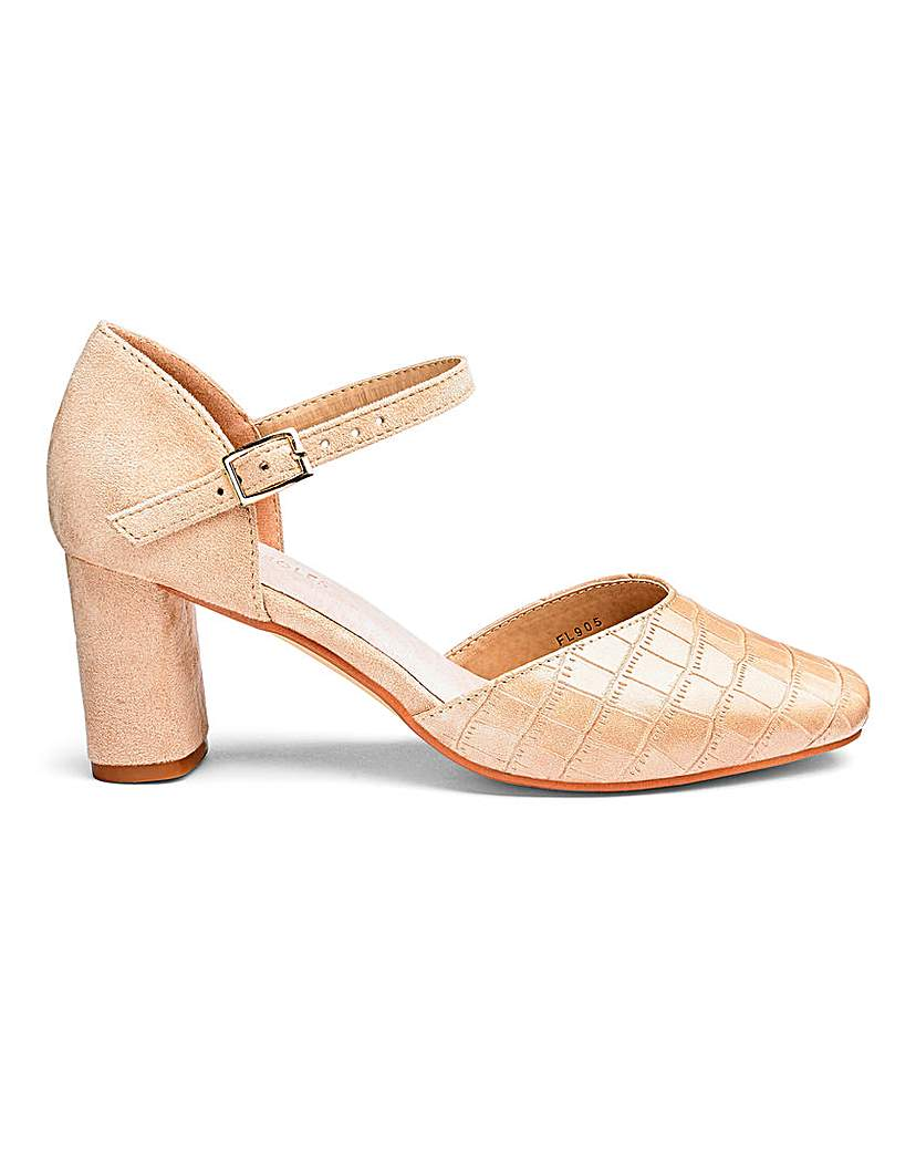 Heavenly Soles Two Part Shoes EEE Fit