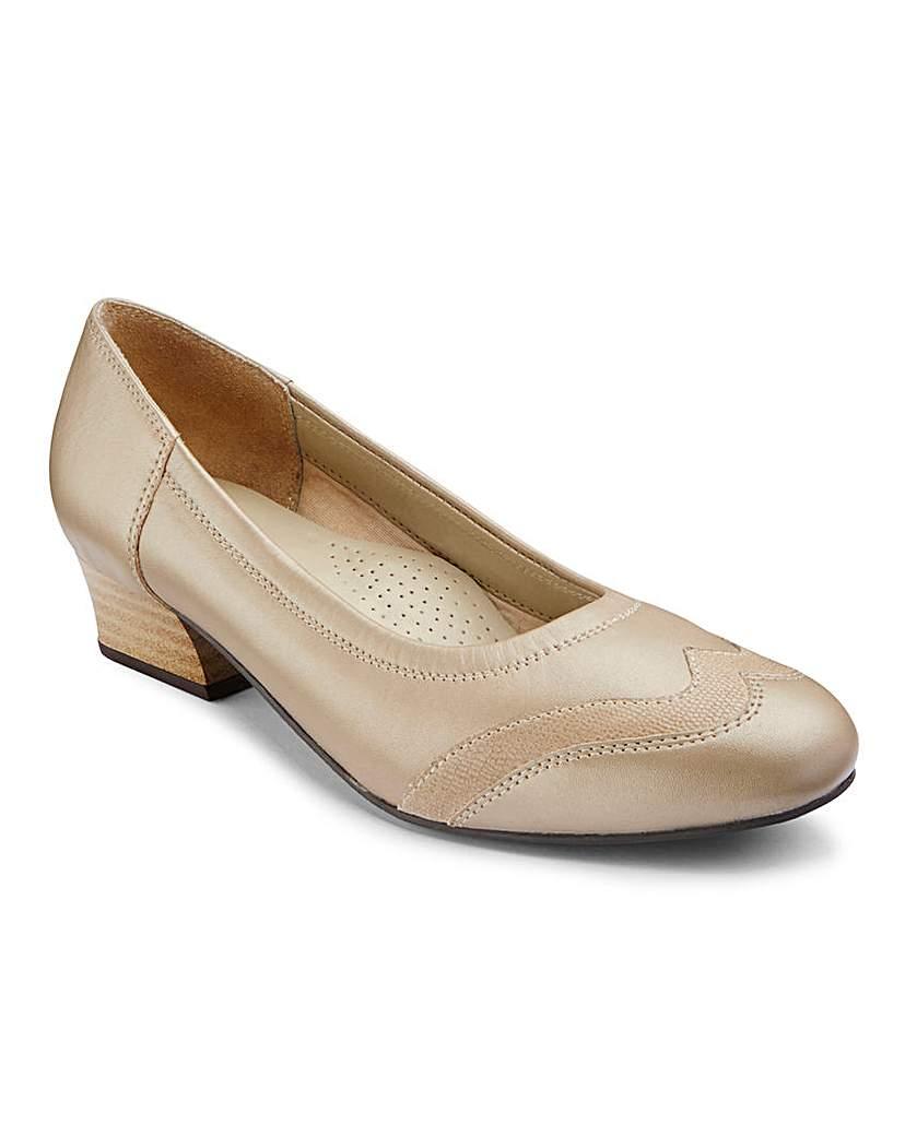 Image of Orthopedic Toe Cap Court Shoes EEEE Fit