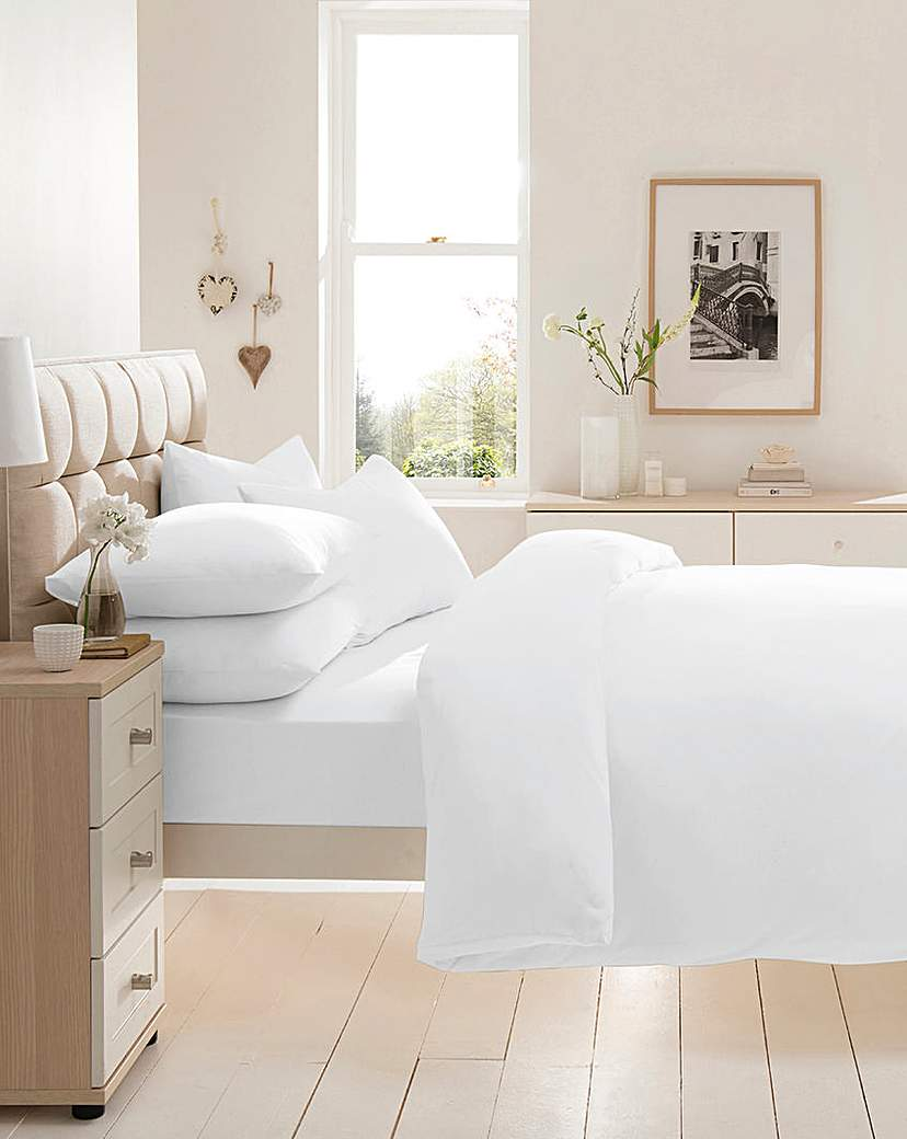 Image of Cotton Jersey Extra Deep Fitted Sheet