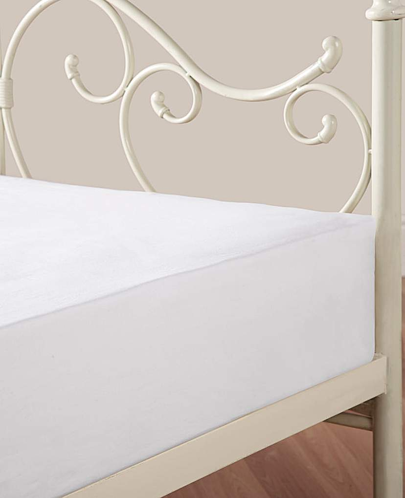 Image of 100% Cotton Percale Fitted Sheet