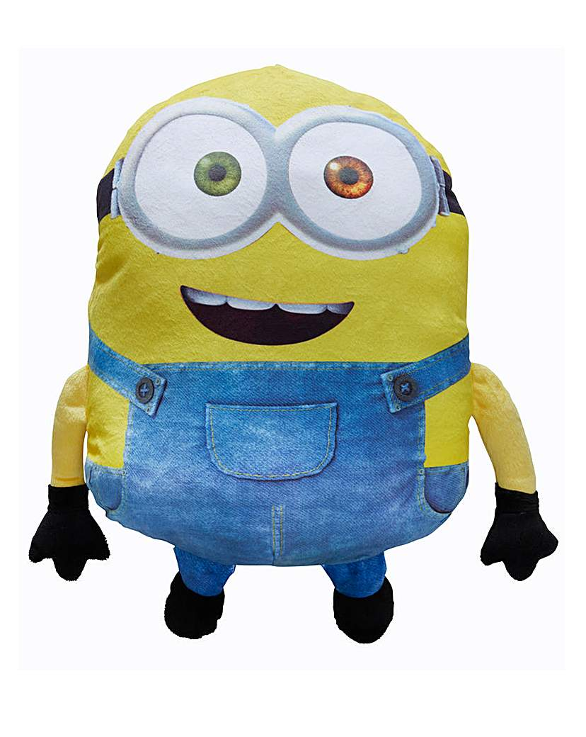 3D Bob Shaped Minion Cushion